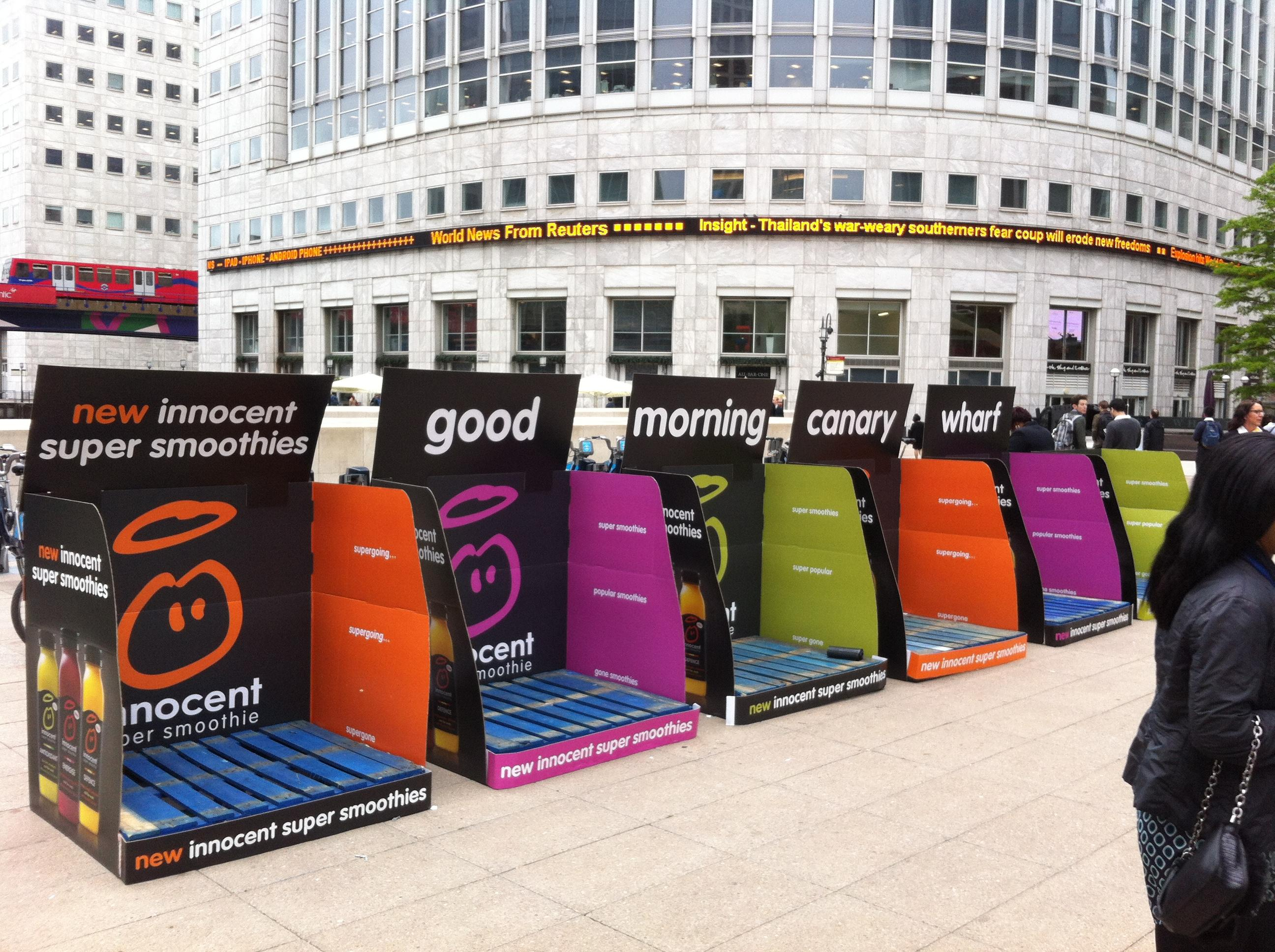 Marketing and Innocent Smoothies - Essay Example
